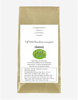 Teff witte broodmix 1000g